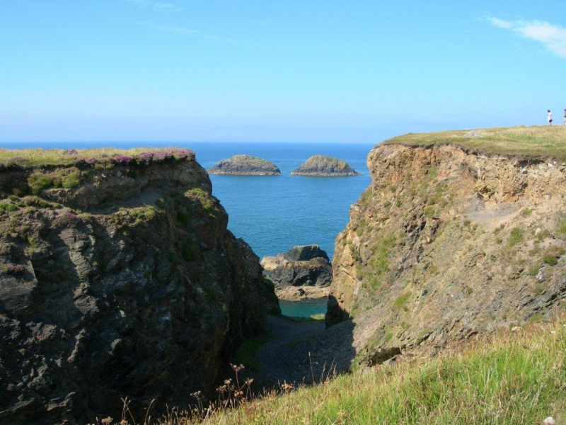 View above Abereiddy