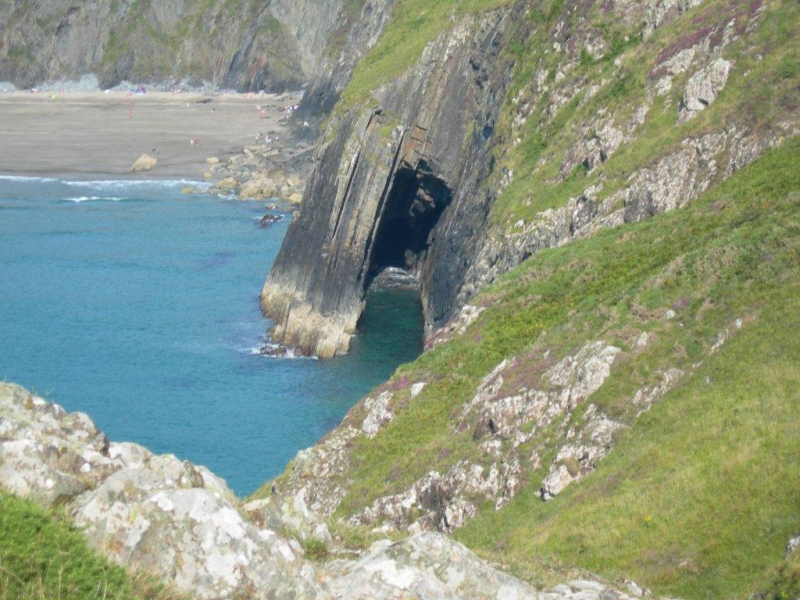 Cliffs and Caves Pembrokeshire Coast National Park