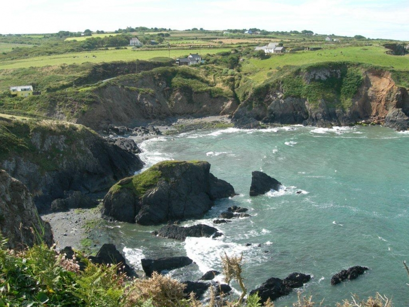 Spectacular views along Pembrokeshire Coastal path