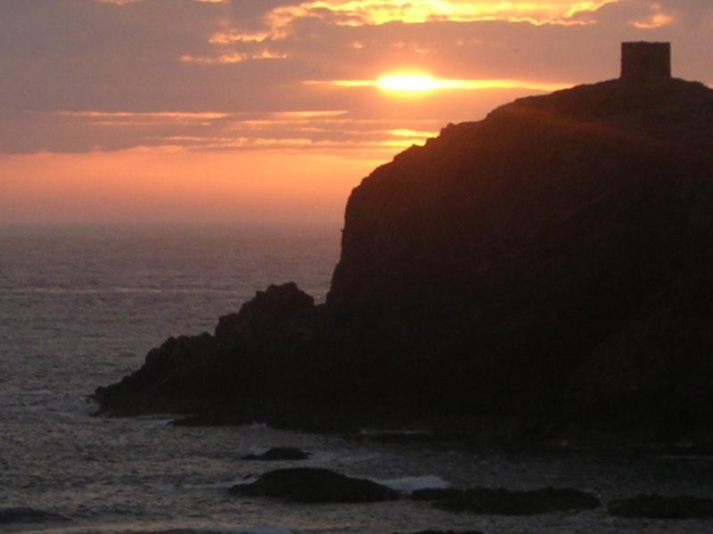 Sunset at Abereiddy